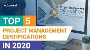 Project Management Professional (PMP), Scrum master, Scrum Product Owner, Agile Master Certified, DevOps Foundation, DevOps Leader, ITIL Foundations
