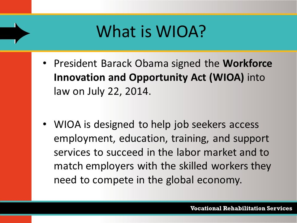 WIOA training grants for the unemployed