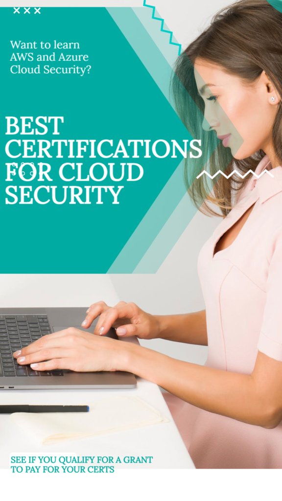 Best Certifications for Cloud Security