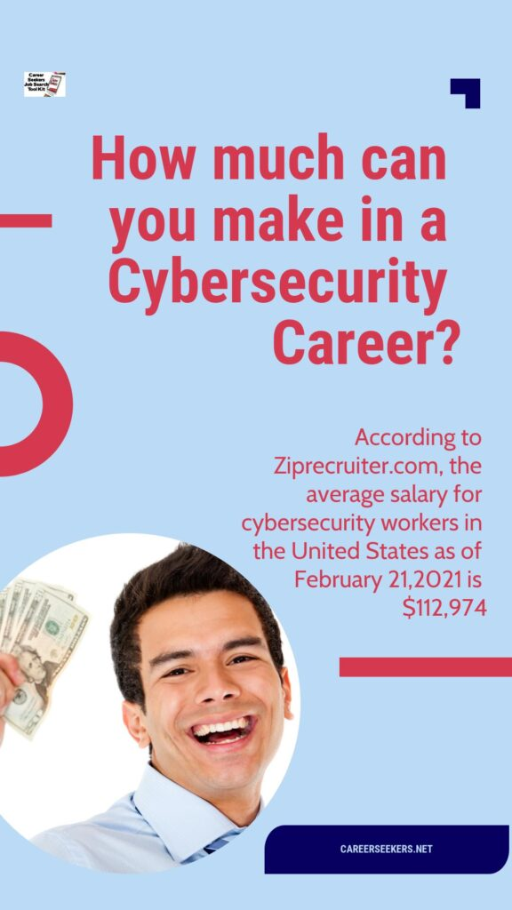how much can you make in a cybersecurity career?